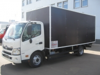 Промтоварный фургон на базе шасси Hino 730L (Toyota)